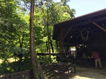 栃木県にある屋根付きBBQ